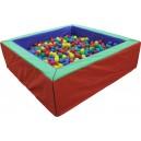 Suchý bazén 150x150 cm + 1500 loptičiek