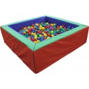 Suchý bazén 200x200 cm + 3000 loptičiek