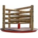 Kolotoč drevený